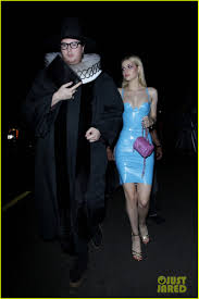 dresses for halloween nicola peltz wears skin tight latex dress for halloween photo