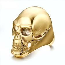 big rock rings images Fashion men ring 316 stainless steel skull rock rings buycoolprice jpg