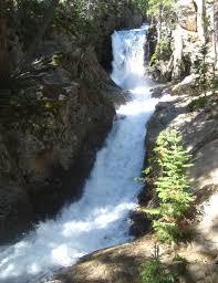 Colorado waterfalls images Browns creek falls colorado waterfall near salida co jpg
