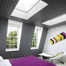 chambre sous combles couleurs design interieur chambre sous combles couleurs contraste gris lilas