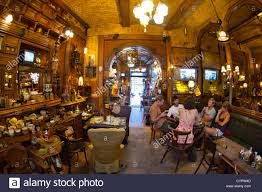 Fishbar Interior Of The Zlatna Ribica Gold Fish Bar And Cafe In Sarajevo