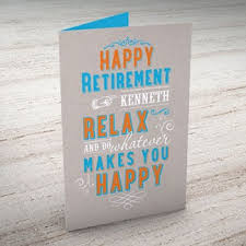 retirement cards retirement cards from 99p card factory