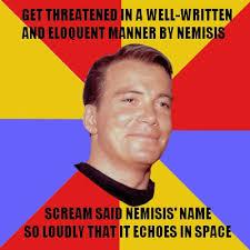 Kirk Meme - captain kirk meme screaming by jackson889 on deviantart