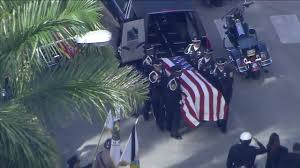 lexus of kendall parts department miami fl funeral procession held for miami police officer killed in crash