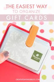 gift card organizer this adorable gift card organizer keeps track of all your cards