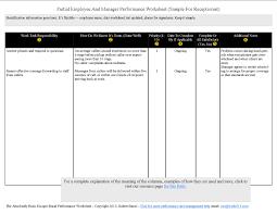 employee evaluation form form vawebs