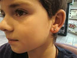mens earring studs boy boys with earrings 3 piercing
