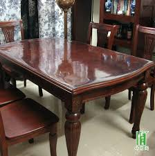 Round Glass Top Dining Tables With Wood Base Table Cover A Gallery