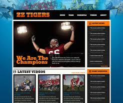 18 free sports html website templates templatemag
