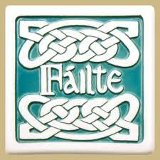 bar celtic knot ceramic coasters 4 irish crossroads