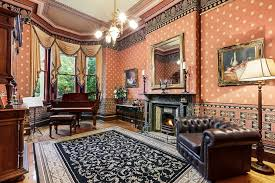 victorian living rooms living rooms wallpaper and rug bring plenty of pattern to the
