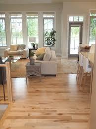 Hardwood Floor Ideas Living Room Hickory Hardwood Flooring Light Floors Living Room