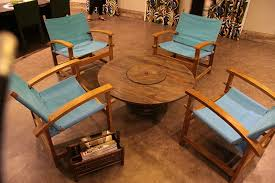 outdoor tables made out of wooden wire spools how to make a table out of wooden cable spools coffee table made