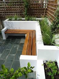 Raised Garden Bed With Bench Seating Best 25 Planter Bench Ideas On Pinterest Garden Benches Uk Diy