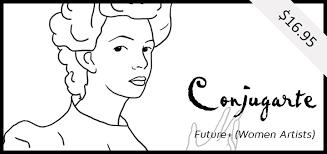 conjugarte spanish future tense women artists