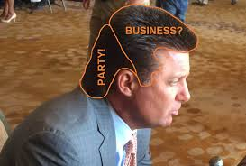 Oklahoma State Memes - mike gundy s mullet drawing attention at big 12 media days