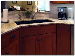 Kitchen Sink Cabinet Size Corner Kitchen Sink Cabinet Measurements Sink And Faucets Home