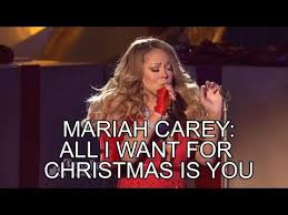 All I Want For Christmas Is You Meme - mariah carey blows all i want for christmas fail epic fail