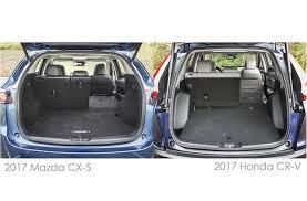 honda crv interior dimensions 2017 honda cr v vs 2017 mazda cx 5 to u s