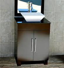 Black Vessel Sink Faucet 24