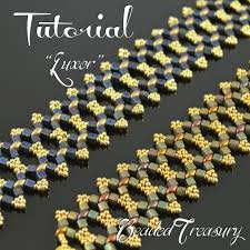 bracelet pattern tutorials images Luxor superduo bead tutorial right angle weave bracelet pattern jpg