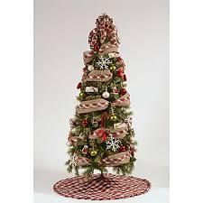 69 pc tidings themed complete tree decorating kit kmart