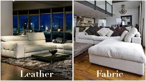 Leather And Fabric Armchair The Advantages And Disadvantages Of Leather And Fabric Sofas