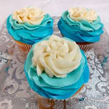 frozen ombre swirl cupcakes two sisters crafting