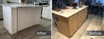 refacing kitchen cabinets with glass doors options and modifications better than new kitchens