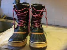 s insulated boots size 9 womens sorel boots ebay