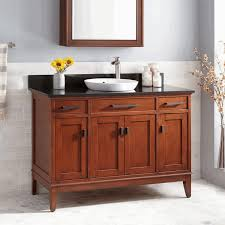Built In Bathroom Vanity Small Bathroom Cabinet Oval Free Standing Soaking Tub Grey Stained