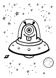 awesome alien coloring pages 97 for your free coloring kids with