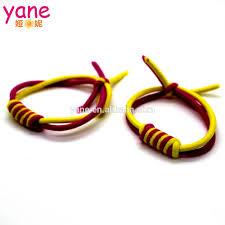 hair elastic new fashion colorful elastic hair band neon elastic hair