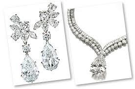 Diamond Chandelier Necklace Pear Shaped Diamond The Teardrop