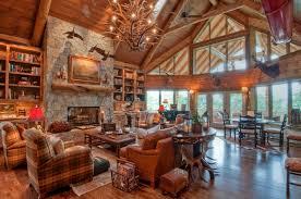 interior log homes home living room ideas