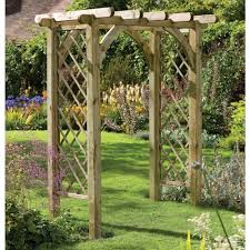red garden arch trellis u2013 outdoor decorations