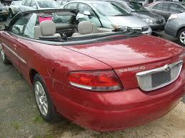 2004 chrysler sebring limited convertible