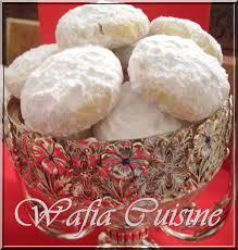 wafia cuisine kourabiedes biscuits grecs wafia cuisine com la tribune
