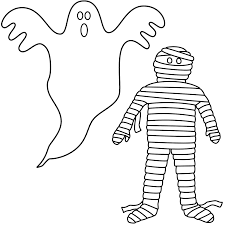 halloween ghost coloring sheet u2013 festival collections
