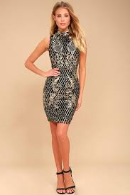 stunning sequin dress black and gold dress dress