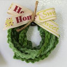 fo friday chained wreath ornament u2013 something by vera