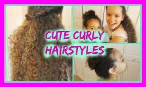 styles for mixed curly hair variations modern cute hairstyles for mixed curly hair simple