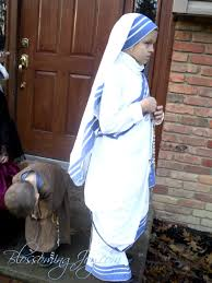 all saints u0027 day costume mother teresa of calcutta u2014 blossoming joy