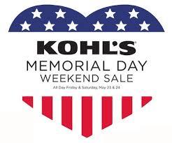 kohls memorial day sale 10 coupon southern savers