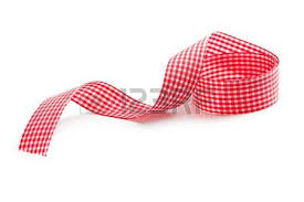 checkered ribbon checkered ribbon on white background zdjęcia royalty free obrazki