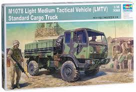 tactical truck amazon com trumpeter 1 35 m1078 lmtv light medium tactical
