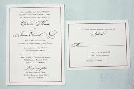 formal wedding invitations purple formal script and border wedding invitations