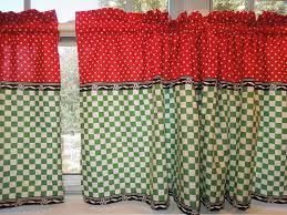 Vintage Green Curtains Very Elegant Vintage Kitchen Curtains Style All Home Decorations