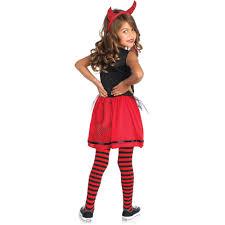 Cheerleading Halloween Costumes Kids Devil Doll Cheerleader Child Halloween Costume Walmart
