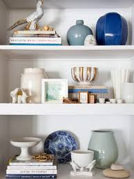 decorating a bookshelf bookshelf and wall shelf decorating ideas hgtv modern room and